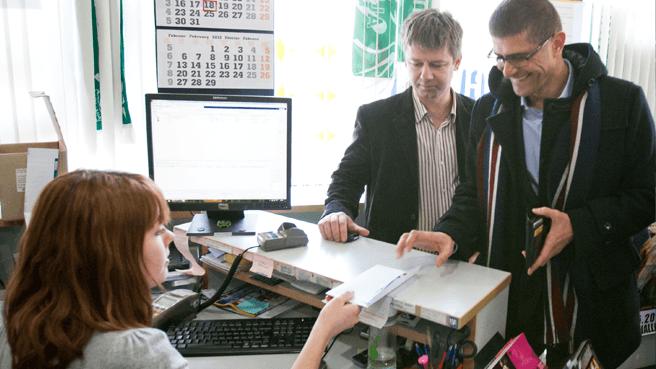 Prve karte so kupili predsednik HZS Matjaž Rakovec, vodstvo HZS in organizacijski odbor prvenstva