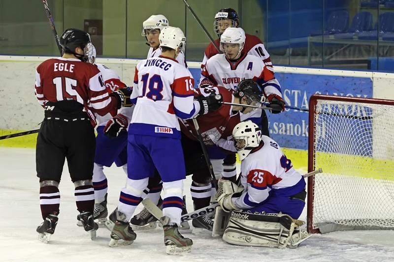 Risi so se borili ves čas tekme (foto: Drago Cvetanovič)