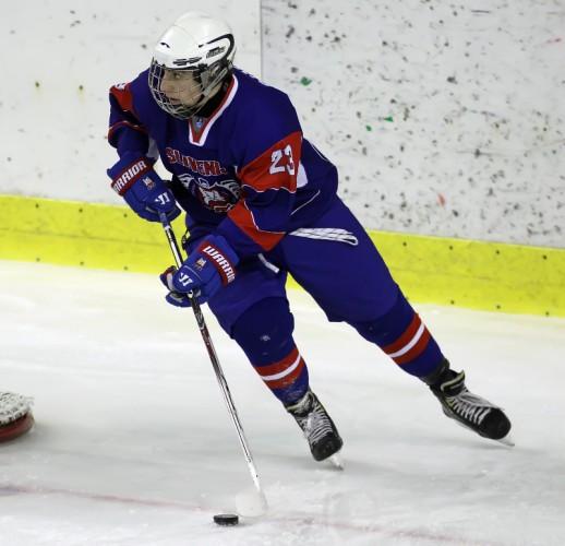 Nik Simšič dvakrat uspešen proti Francozom (foto: Drago Cvetanovič)