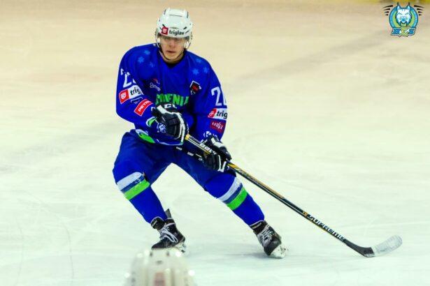 Nik Unuk je dosegel enega od slovenskih zadetkov