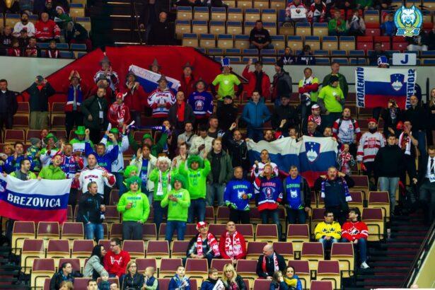Slovenske zastave so vihrale ob drugi zmagi Risov