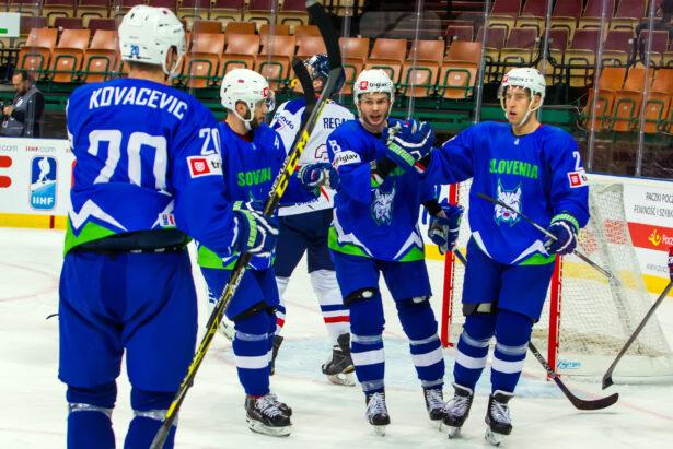 Po izenačenju so Slovenci zaigrali svojo igro
