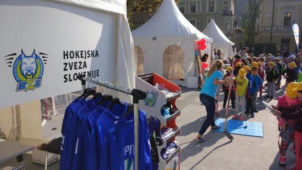 Hokejska zveza Slovenije na Olimpijskem festivalu 2016