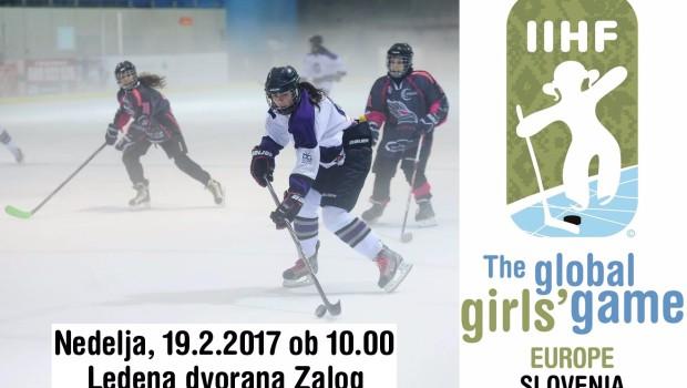 "Slovenija premierno v projektu IIHF ""Global Girls' Game"""