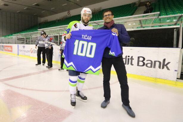 Rok Tičar je odigral 100. tekmo v dresu slovenske reprezentance