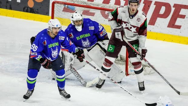 Latvijci boljši, dve poškodbi pri risih