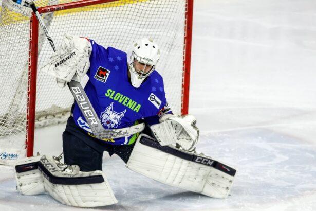 Gašper Krošelj v akciji