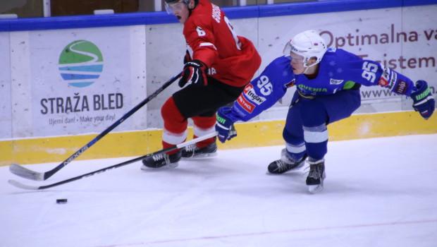 V izenačeni tekmi litovski hokejisti bolj zbrani in natančnejši od mladih risov