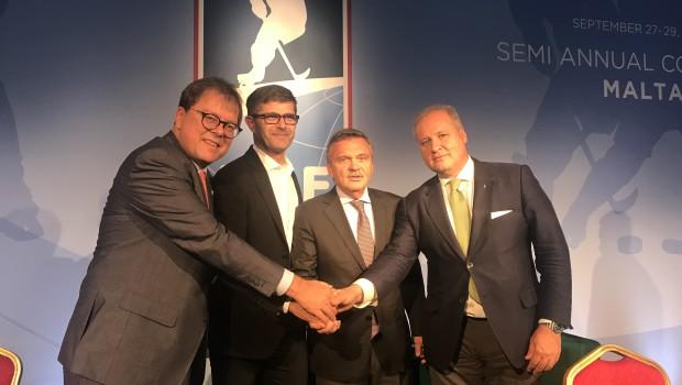 Nov šestletni dogovor o Alpski hokejski ligi