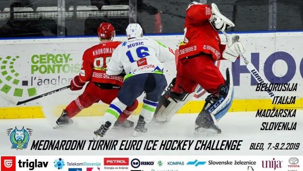 V februarju turnir Euro Ice Hockey Challenge na Bledu
