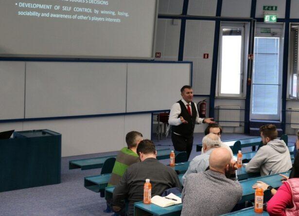 Prof. Dr. Matej Tušak, Predavnaje Etika v športu in športnem managementu