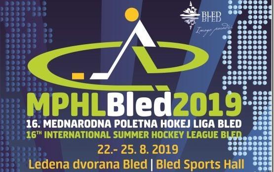 16. Mednarodna poletna hokej liga Bled 2019