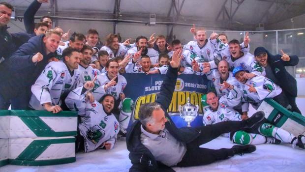 Hokejisti HK SŽ Olimpija so pokalni prvaki 2019