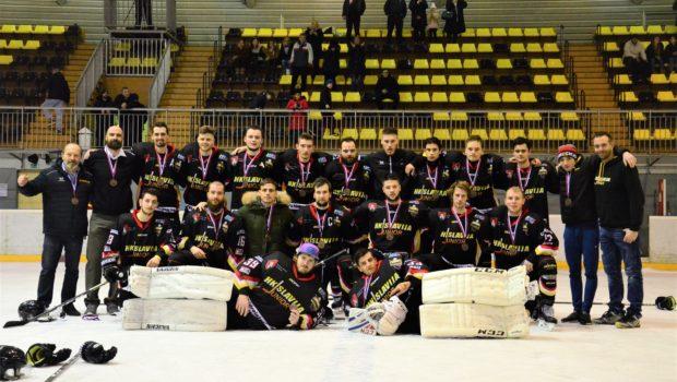 Večnima rivaloma finale, Slaviji bron članskega državnega prvenstva