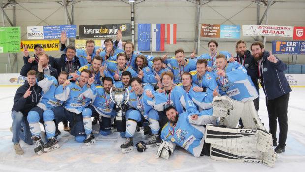 Zmagovalci IHL v sezoni 2020/21 so hokejisti HK Triglav