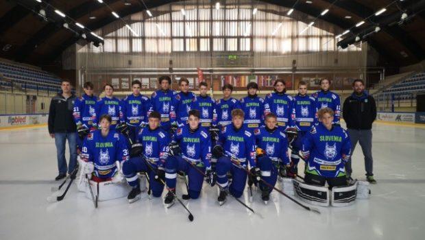 Zbrani tudi mladi hokejisti selekcij U-15 in U-16